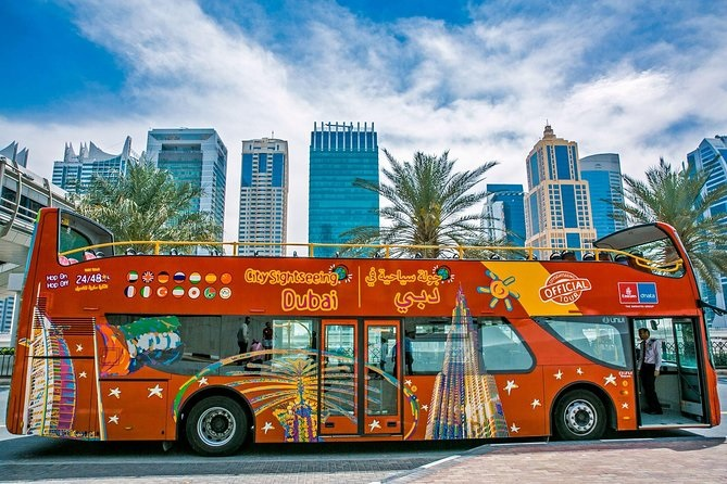 Dubai City Tour in a luxury bus- top places to see