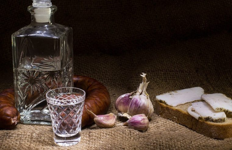 A History of Vodka in Russia